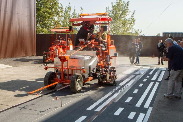 Разметочные машины для дорог